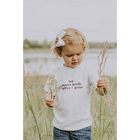 Saved by Grace Co. - Mama Needs Coffee and Jesus Toddler Tee