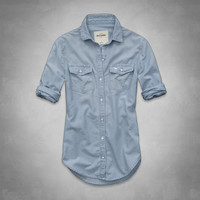 alexa denim shirt