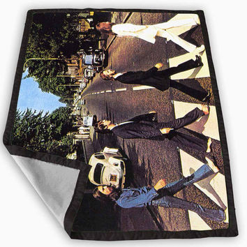 The Beatles abbey road Blanket for Kids Blanket, Fleece Blanket Cute and Awesome Blanket for your bedding, Blanket fleece **