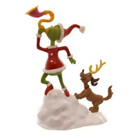 Department 56 Accessory Grinch And Max A Toot Village Accessory