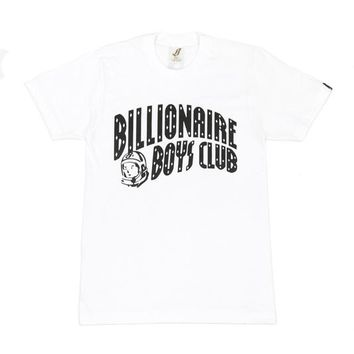 Billionaire Boys Club Classic Curve T-Shirt White - Billionaire Boys Club