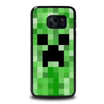 CREEPER MINECRAFT 2 Samsung Galaxy S7 Edge Case Cover