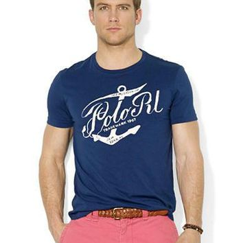 Polo Ralph Lauren Classic-Fit Nautical Print T-Shirt