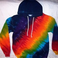 Tie Dye Hooded Sweatshirts Hoodies in Custom Colors