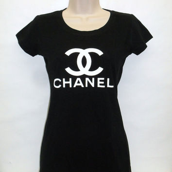Chanel Fashionista Women's Lady Fitted Top T shirt