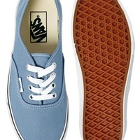 Vans Authentic Faded Denim Trainers