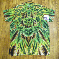 Tie Dye Size XL Earth Bug  Short Sleeve Tie Dye Shirt   NEW  unisex  guys