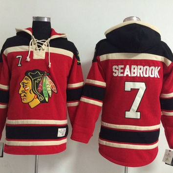 Chicago Blackhawks - KEITH SEABROOK #7 Vintage NHL Sweatshirt