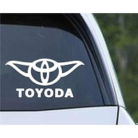 Star Wars - Toyoda Funny Toyota Die Cut Vinyl Decal Sticker