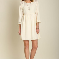 Date Night Dress - Cream