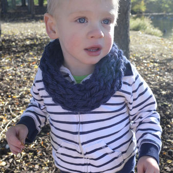 For the Love of Fall Toddler Single Wrap Infinity Scarf