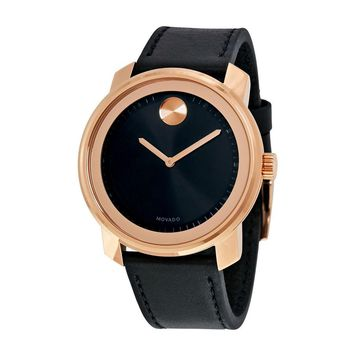 Movado Bold Rose Gold Ion-plated Stainless Steel Unisex Watch 3600376