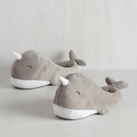 Nautical Sea-son to Snuggle USB Foot Warmers by ModCloth