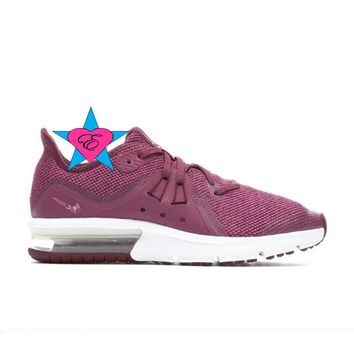 Bedazzled Purple Burgundy Nike Air Max Advantage 2 | 3.5-7