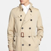 Men's Burberry London 'Britton' Cotton Trench Coat