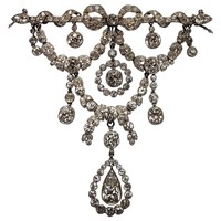 Belle Epoque Cartier Paris Diamond Platinum Necklace