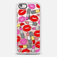 Lipstick & Lips iPhone 6s case by Little Sloth | Casetify