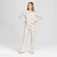 Women's TENCEL® Pajama Set - Gilligan & O'Malley™ Cream Floral