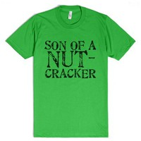 Son of a Nutcracker-Unisex Grass T-Shirt