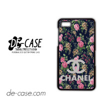 Floral Chanel 1 For Blackberry Z10 Case Phone Case Gift Present YO
