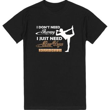Beer Yoga t-shirt