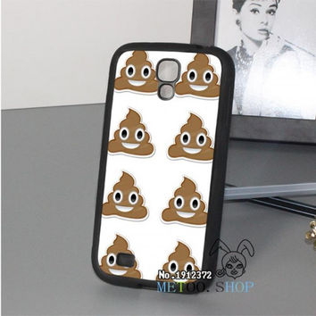 Original Phone Cell Cover Emoji Poop Case for Samsung Galaxy