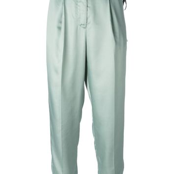 MM6 By Maison Martin Margiela high waisted trousers