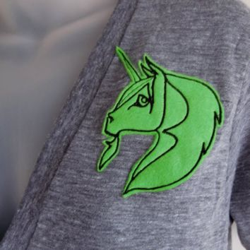 The Unicorn Invasion in Fluorescent Green