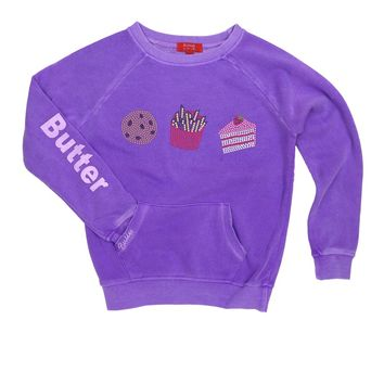 Butter Kids Junk Food Raglan