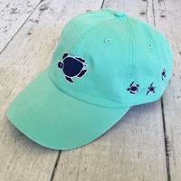 Shelly Logo Cap - Seafoam