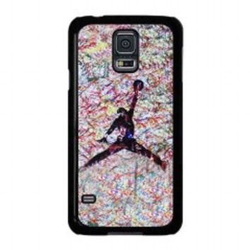 air jordan paint for samsung galaxy s5 case