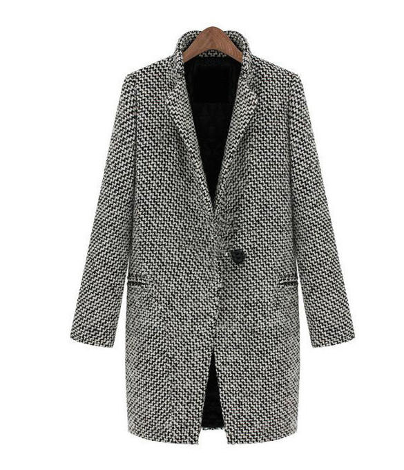 Lightweight Wool Coat from Harper & Lily