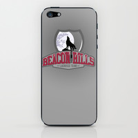Teen wolf - Beacon hills lacrosse team iPhone & iPod Skin by Little wadoo