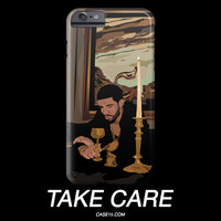 Drake Take Care Illustration IPhone Galaxy Phone Case