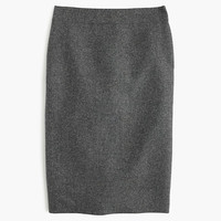 J.Crew Womens Petite No. 2 Pencil Skirt In Donegal Wool