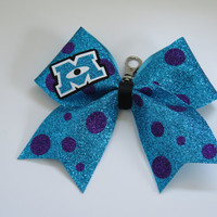 2 1/4 inch Monsters Inc cheer bow