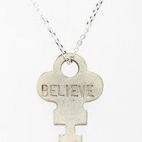 Women's The Giving Keys 'Dainty Classic - Hope' 18-Inch Gold Key Pendant Necklace