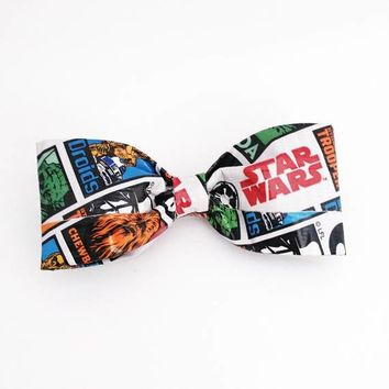 Star Wars Clip On Bow Tie, Men's Accessories, Cool White Bowties