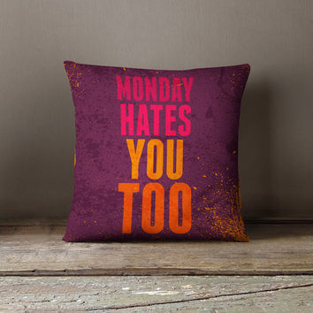 Funny Pillow | Funny Pillowcases | Funny Pillow Cases | Quote Pillow | Decorative Pillow | Throw Pillows | Quote Pillow Case