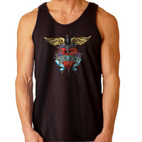 logo Bon Jovi For Mens Tank Top Fast Shipping For USA special christmas ***