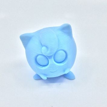 3D Printed Pokemon Jiggly Puff Planter, Succulent Planter, Air plant holder, Flower pot, Home Decor, Fall decor, Made in the USA