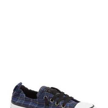Women's Converse Chuck Taylor 'Shoreline' Plaid Slip-On Sneaker,
