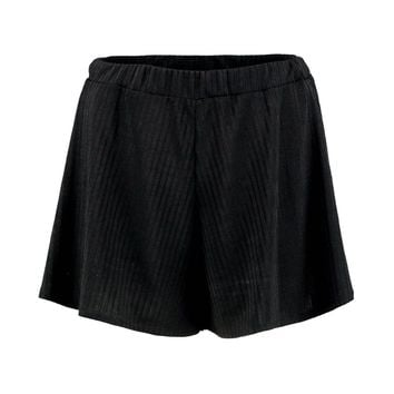 Jennifer Ribbed Flippy Shorts