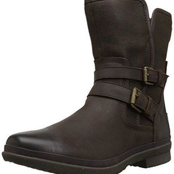 UGG Australia Women's Simmens lined with Plush Wool Leather Boot UGG boots