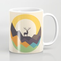 Deer Mug by Andy Westface
