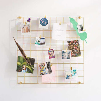 Wire Wall Square Grid | Urban Outfitters