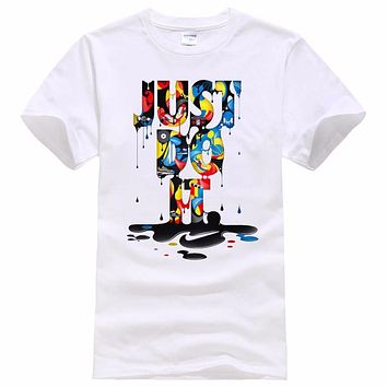 Colorful Just Do it T-Shirt