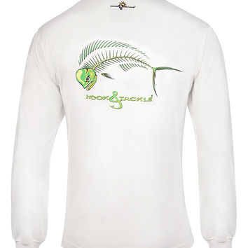 Men's Bull Dolphin X-Ray L/S UV Fishing T-Shirt