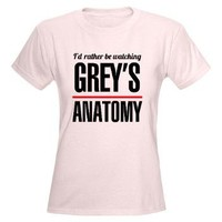Id rather be watching Greys Anatomy Women's Light> Grey's Anatomy TV Store