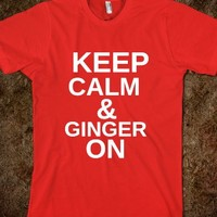 keep calm and ginger on - glamfoxx.com